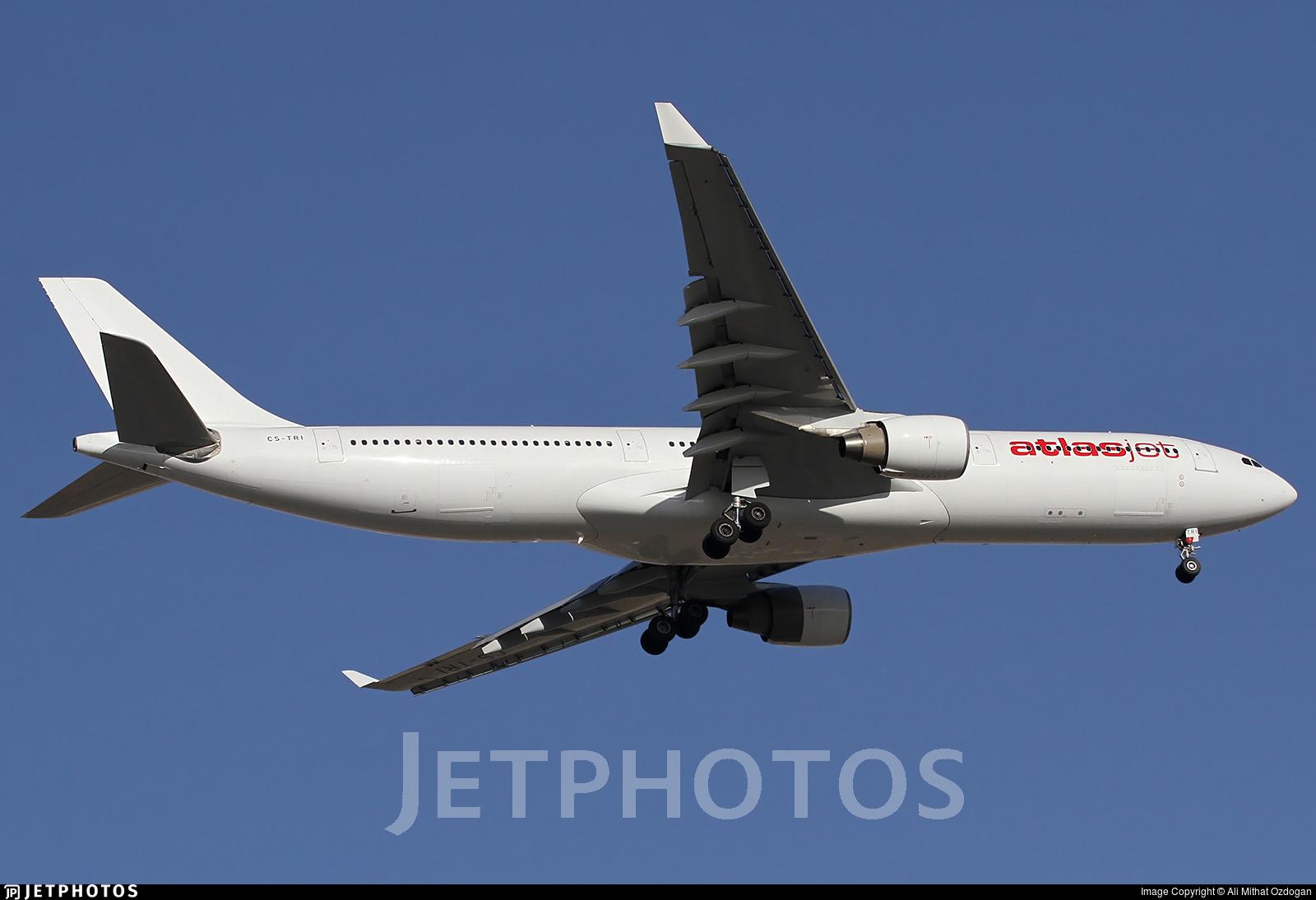 CS-TRI - Airbus A330-322 - AtlasJet International Airways (Hifly)