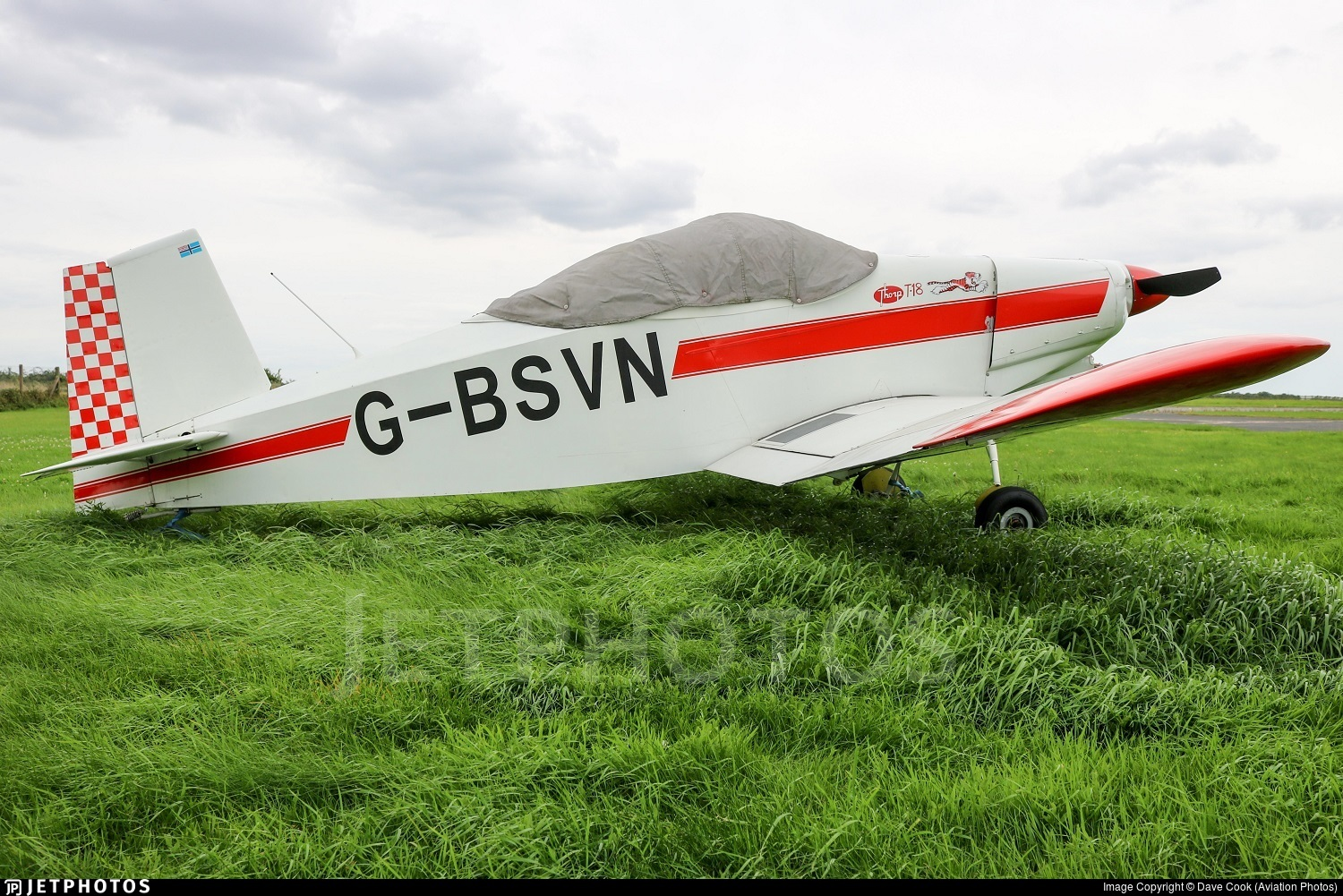 G-BSVN - Thorp T18 - Private