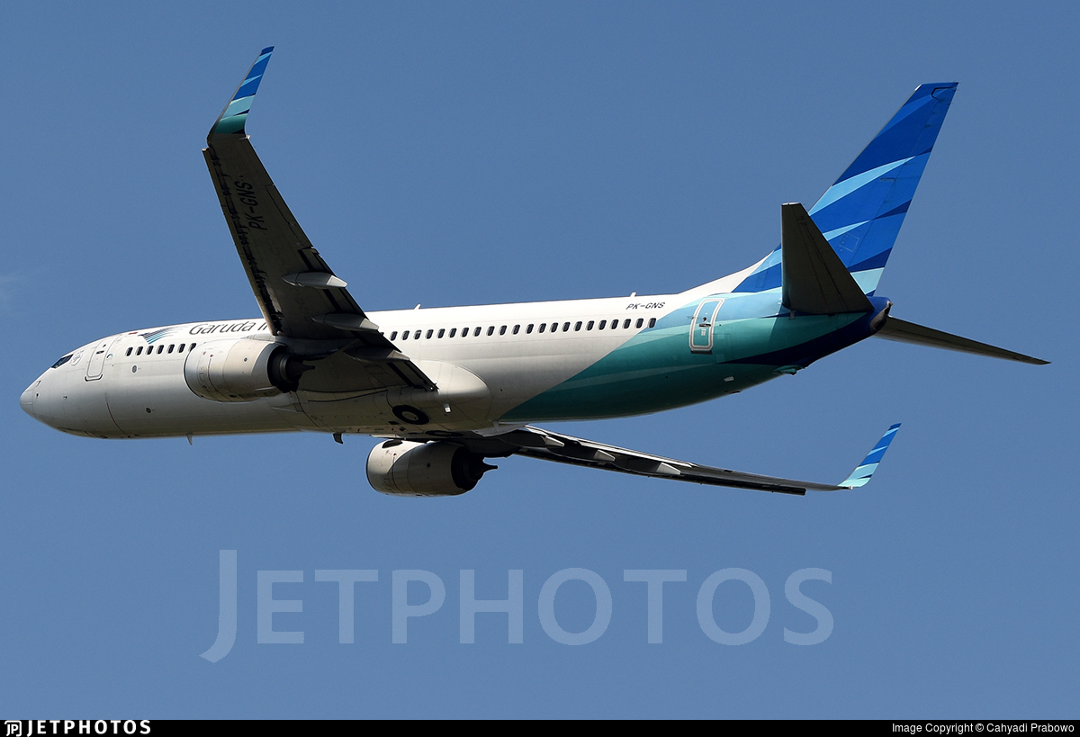 PK-GNS - Boeing 737-8U3 - Garuda Indonesia