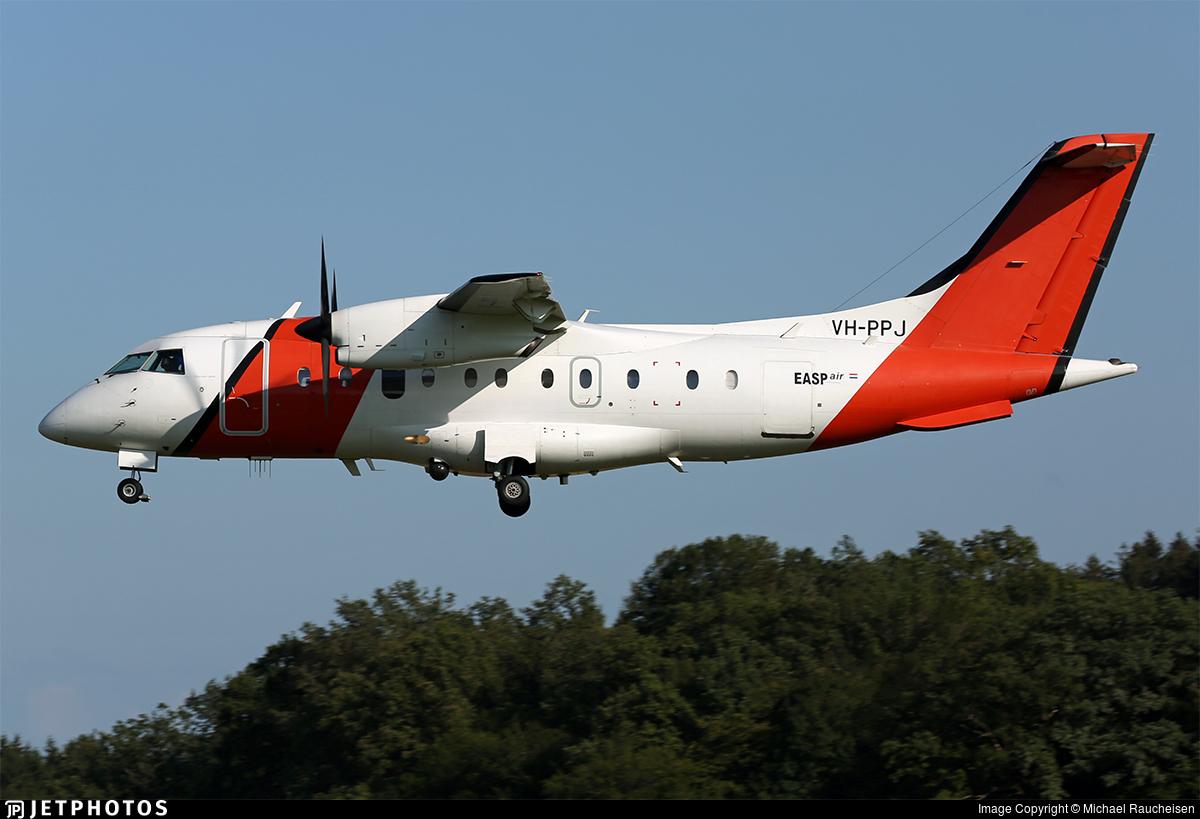 VH-PPJ - Dornier Do-328-100 - EASP Air