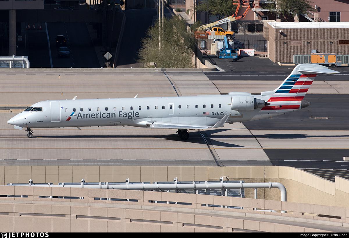 N762SK - Bombardier CRJ-701ER - American Eagle (SkyWest Airlines)