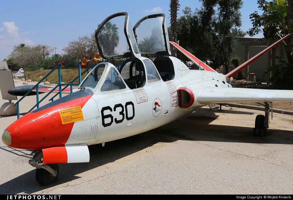 630 - Fouga CM-170 Tzukit - Israel - Air Force