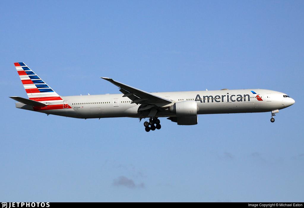 N726AN - Boeing 777-323ER - American Airlines