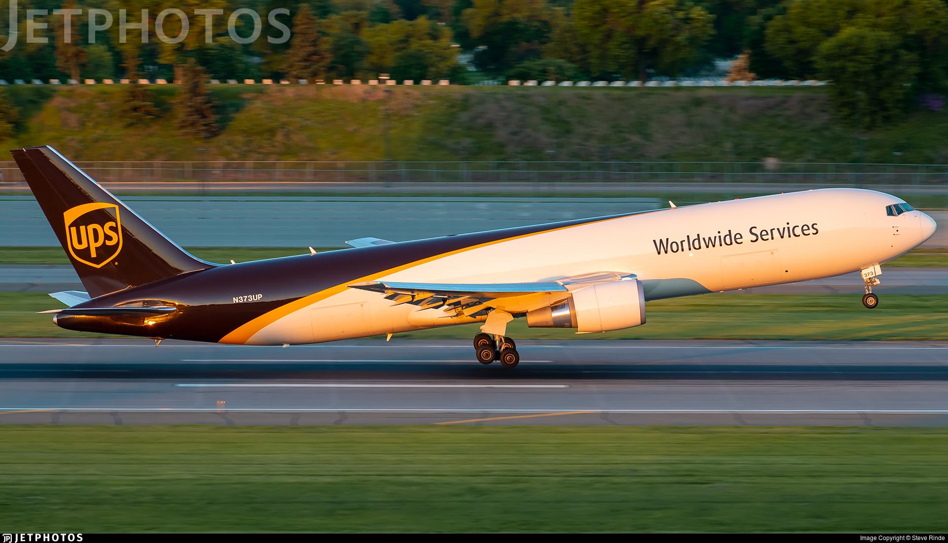 N373UP - Boeing 767-300F(ER) - United Parcel Service (UPS)