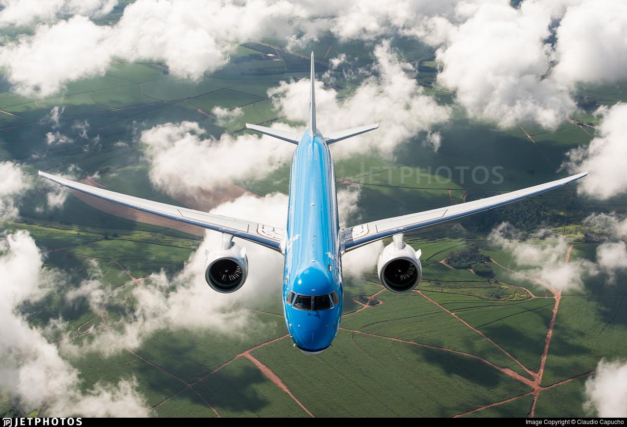 PR-EAF - Embraer 190-400STD - KLM Cityhopper