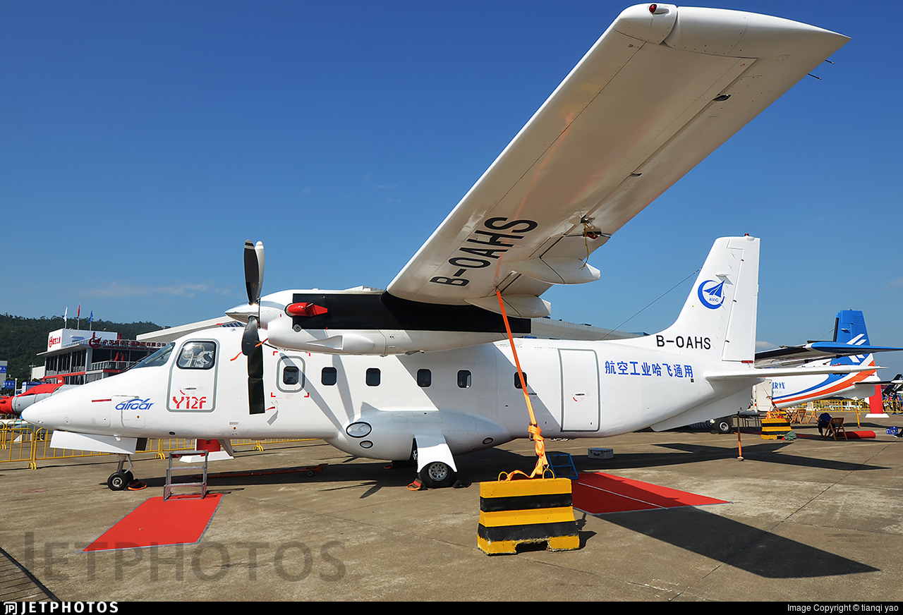 B-0AHS - Harbin Y-12F - China Aviation Industry Corporation - AVIC