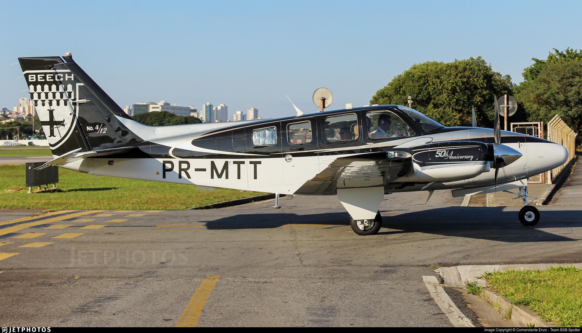 PR-MTT - Beechcraft G58 Baron - Private