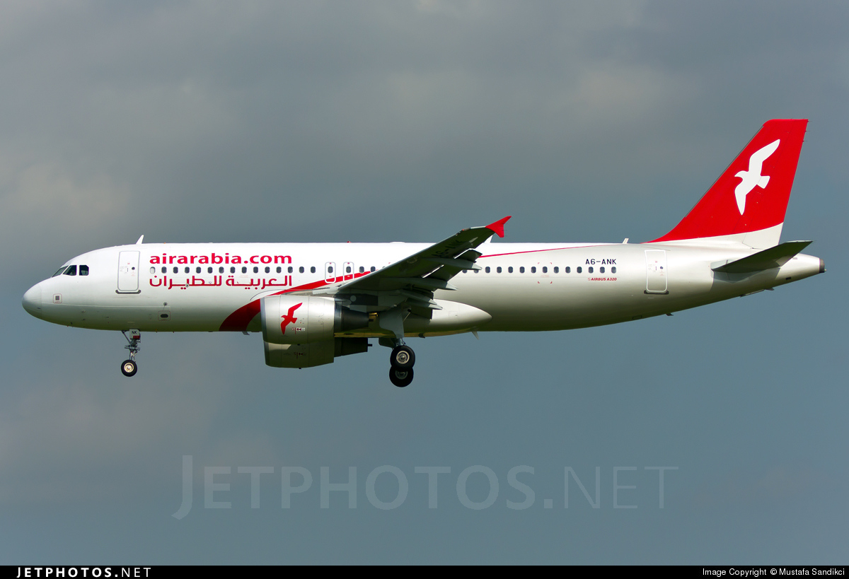 A6-ANK - Airbus A320-214 - Air Arabia