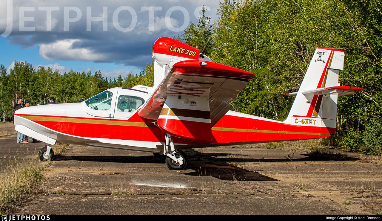 C-GXKT - Lake LA-4-200 Buccaneer - Private