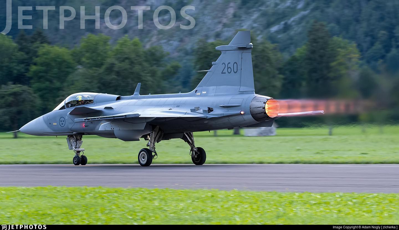 39260 - Saab JAS-39C Gripen - Sweden - Air Force
