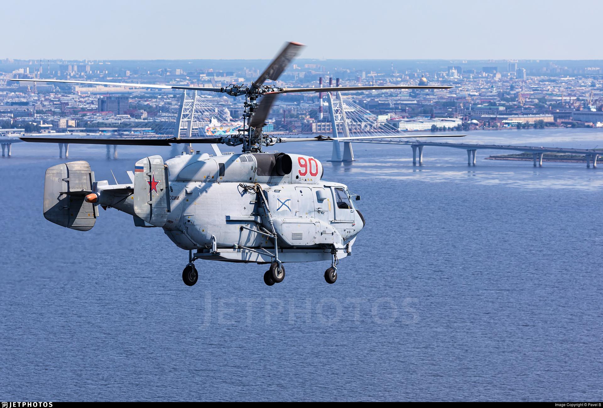 RF-34166 - Kamov Ka-31 Helix B - Russia - Navy