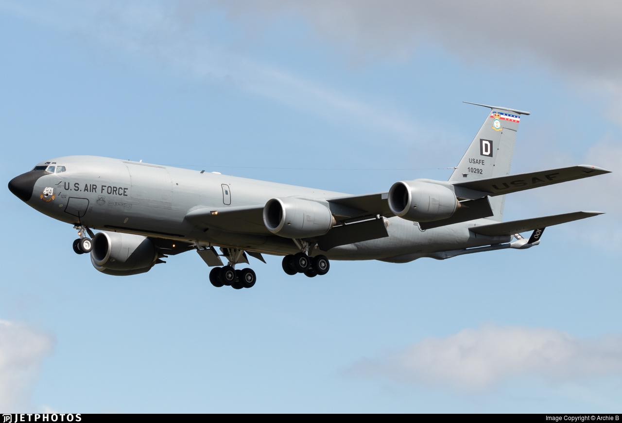 61-0292 - Boeing KC-135R Stratotanker - United States - US Air Force (USAF)