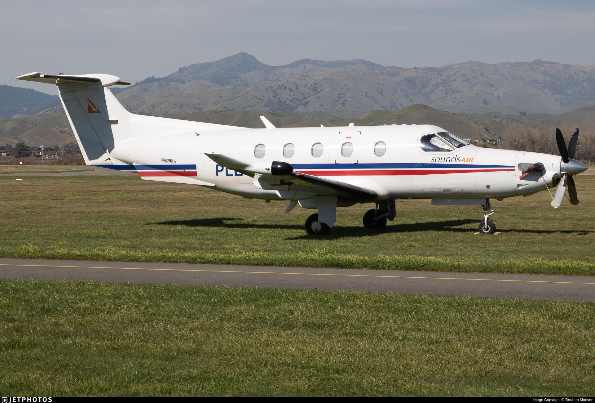 ZK-PLB - Pilatus PC-12/47 - Sounds Air