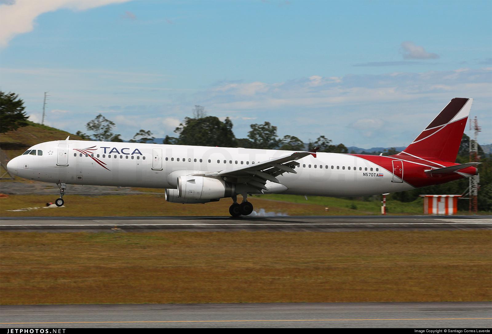 N570TA - Airbus A321-231 - TACA International Airlines