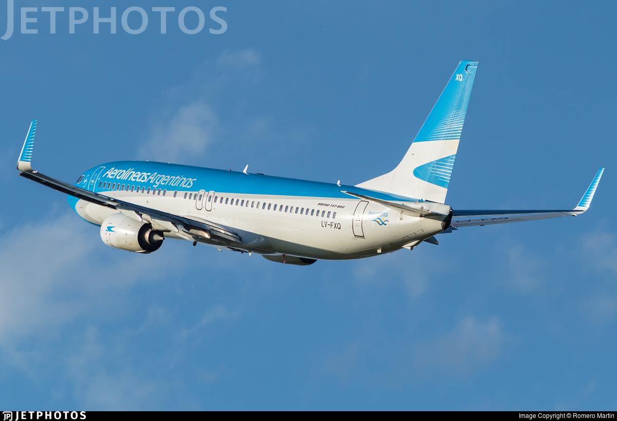 LV-FXQ - Boeing 737-8MB - Aerolíneas Argentinas