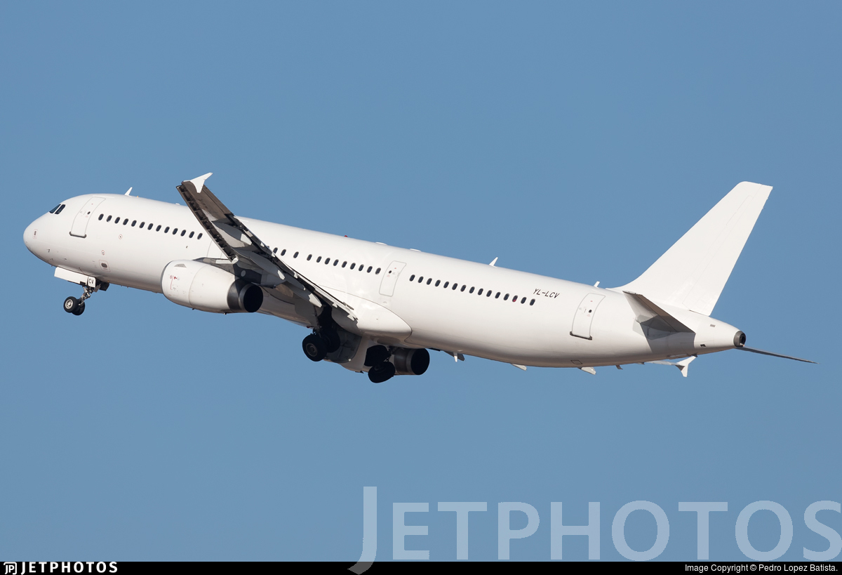 YL-LCV - Airbus A321-231 - SmartLynx Airlines
