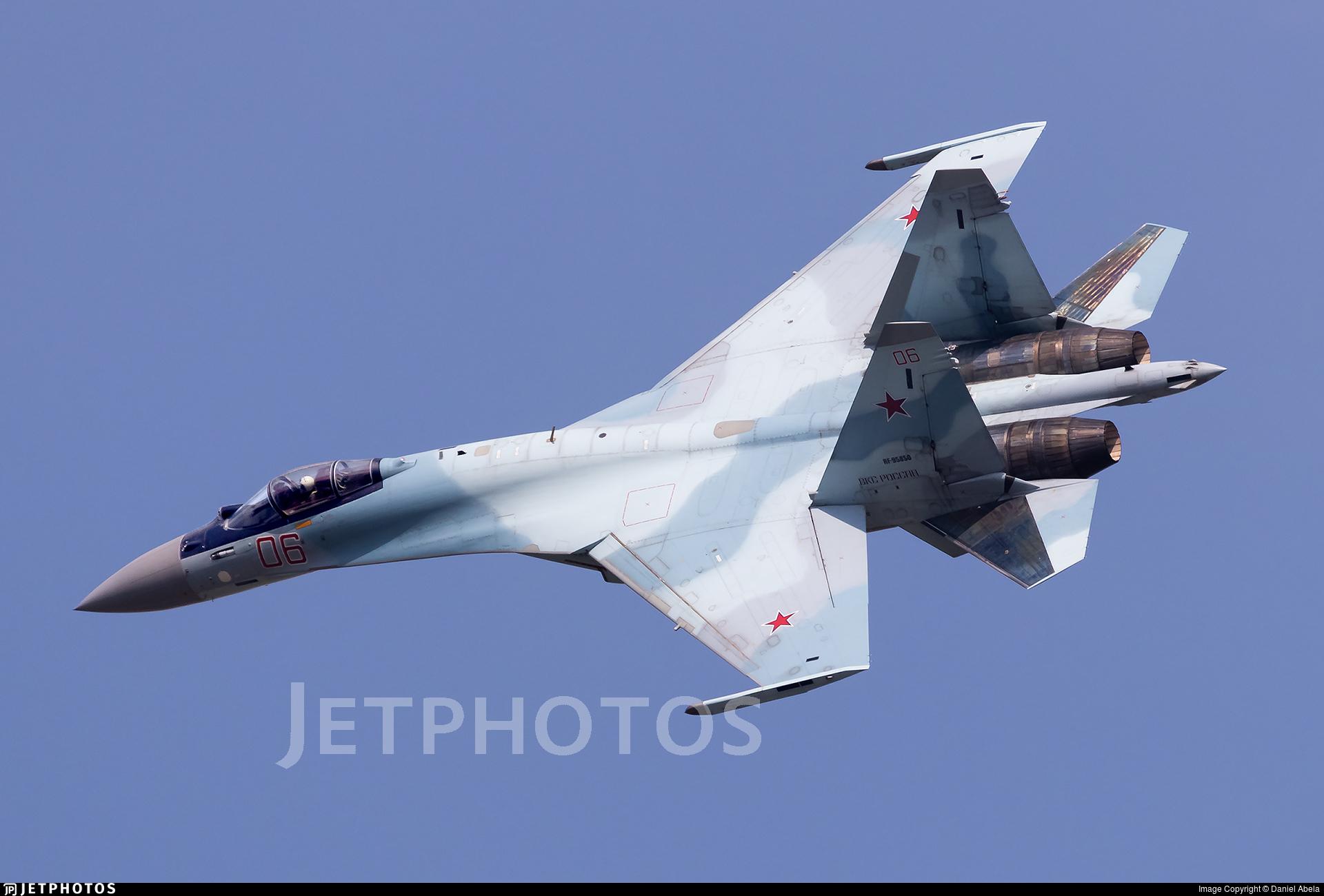 RF-95850 - Sukhoi Su-35S - Russia - Air Force
