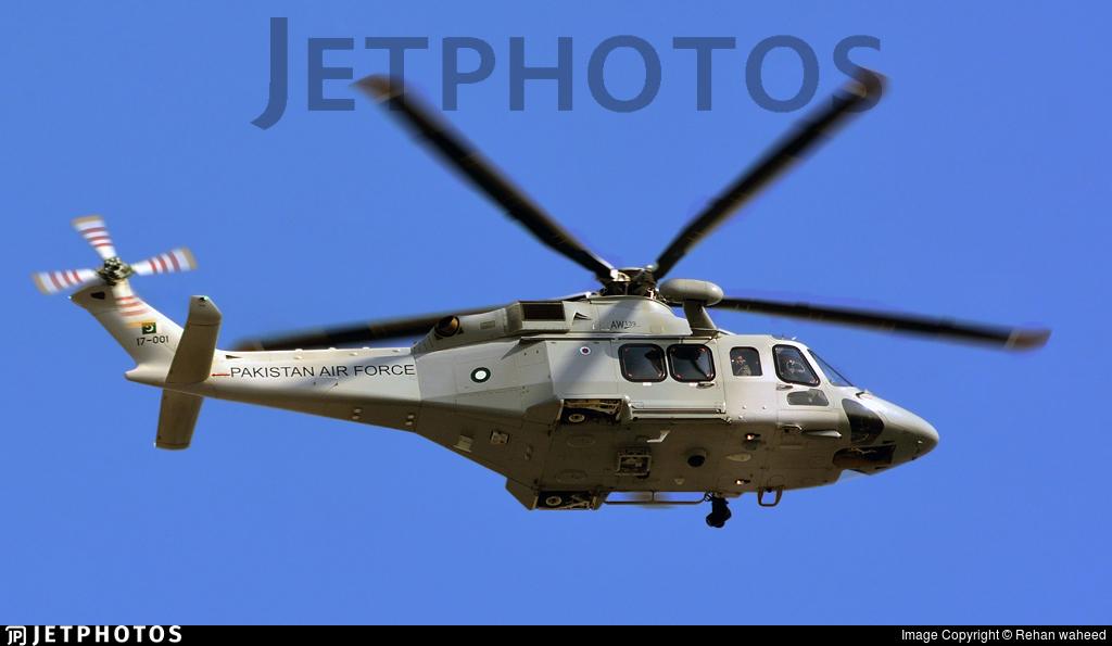 17-001 - Agusta-Westland AW-139 - Pakistan - Air Force