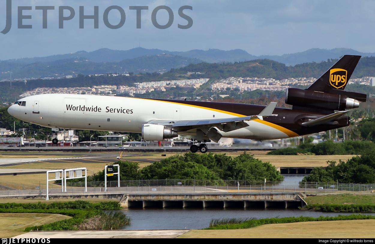 N287UP - McDonnell Douglas MD-11(F) - United Parcel Service (UPS)