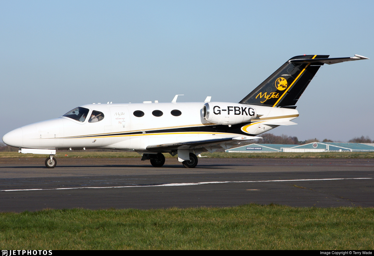 G-FBKG - Cessna 510 Citation Mustang - MyJet