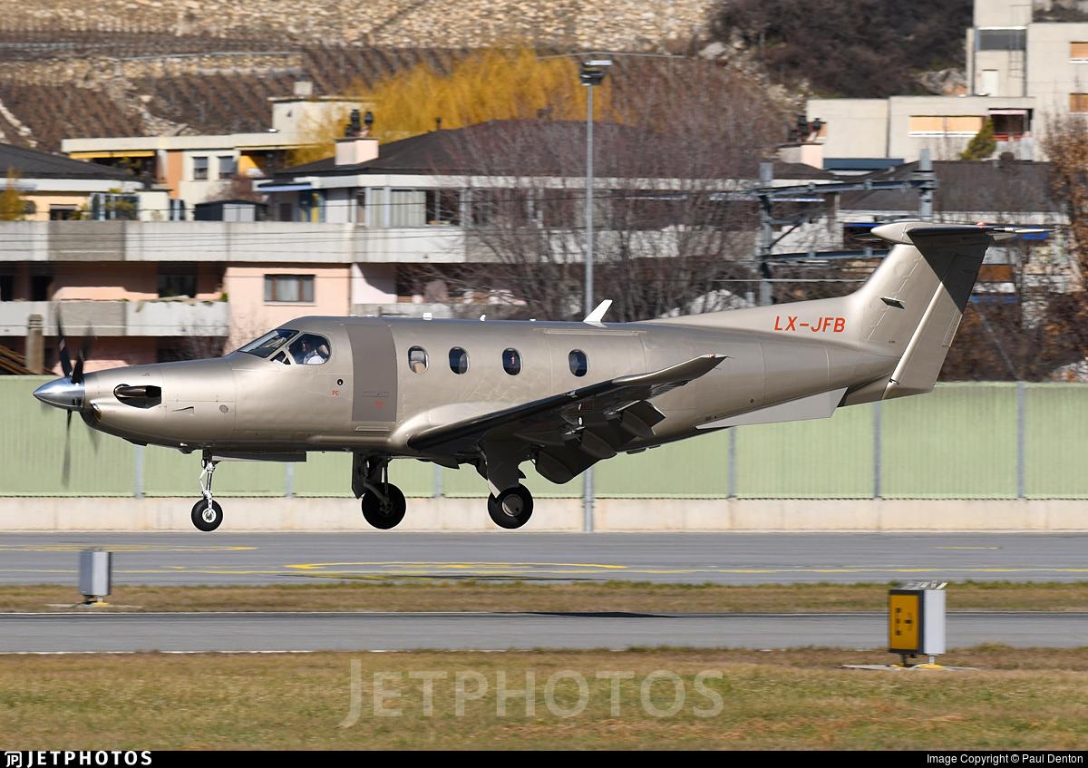 LX-JFB - Pilatus PC-12/47E - Jetfly Aviation