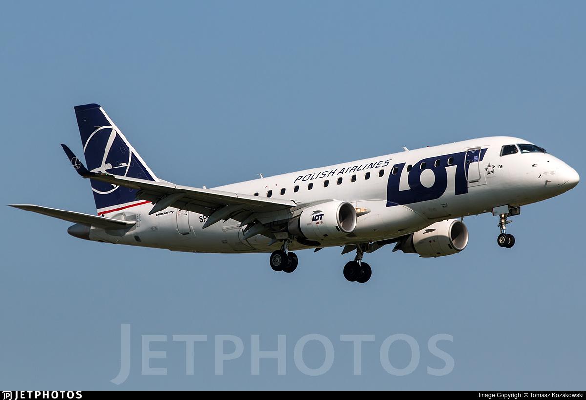SP-LDE - Embraer 170-100STD - LOT Polish Airlines