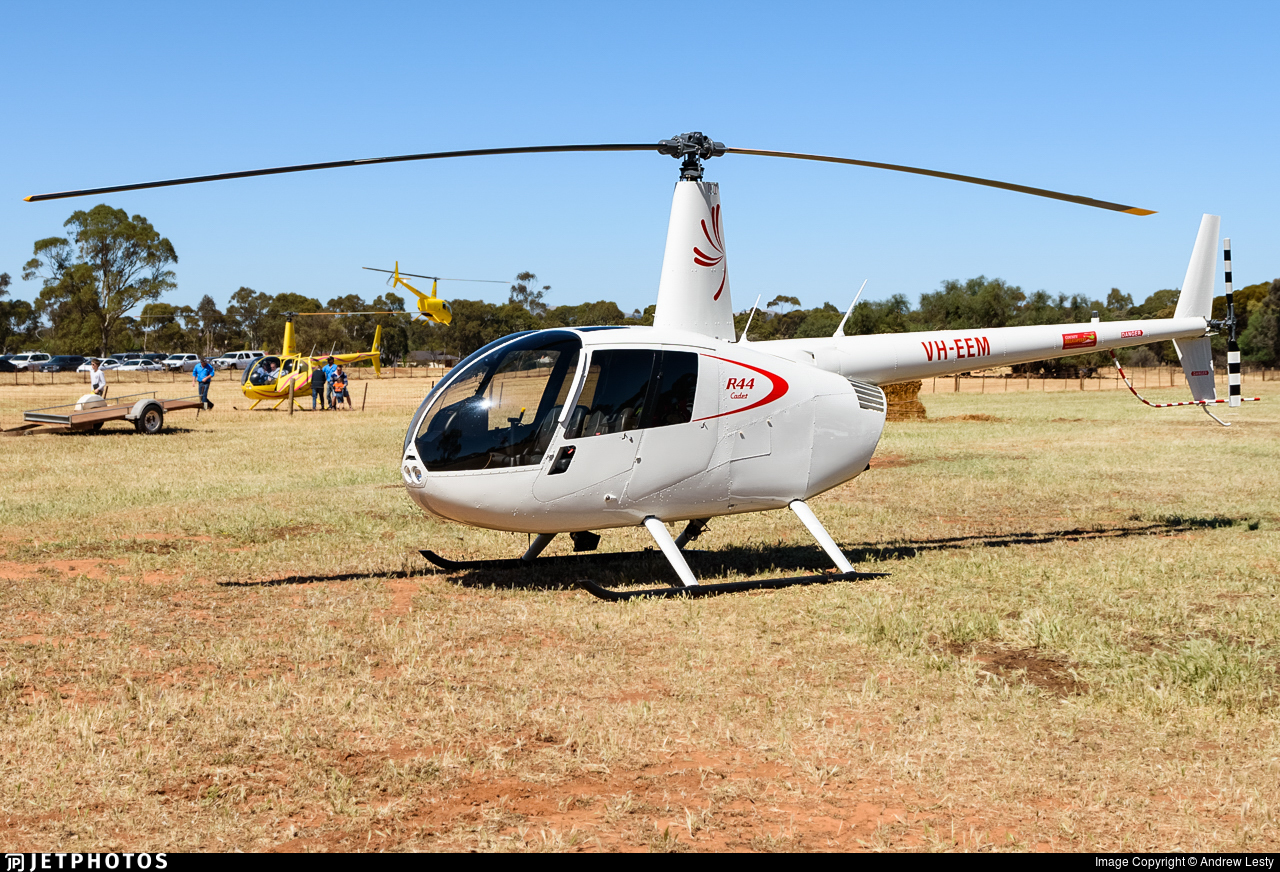 VH-EEM - Robinson R44 Cadet - Private