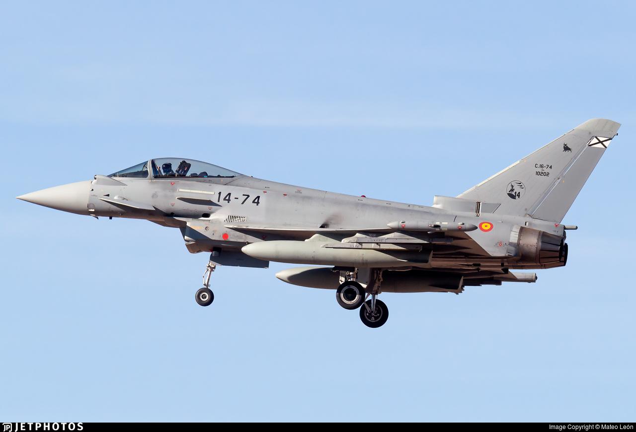 C.16-74 - Eurofighter Typhoon EF2000 - Spain - Air Force