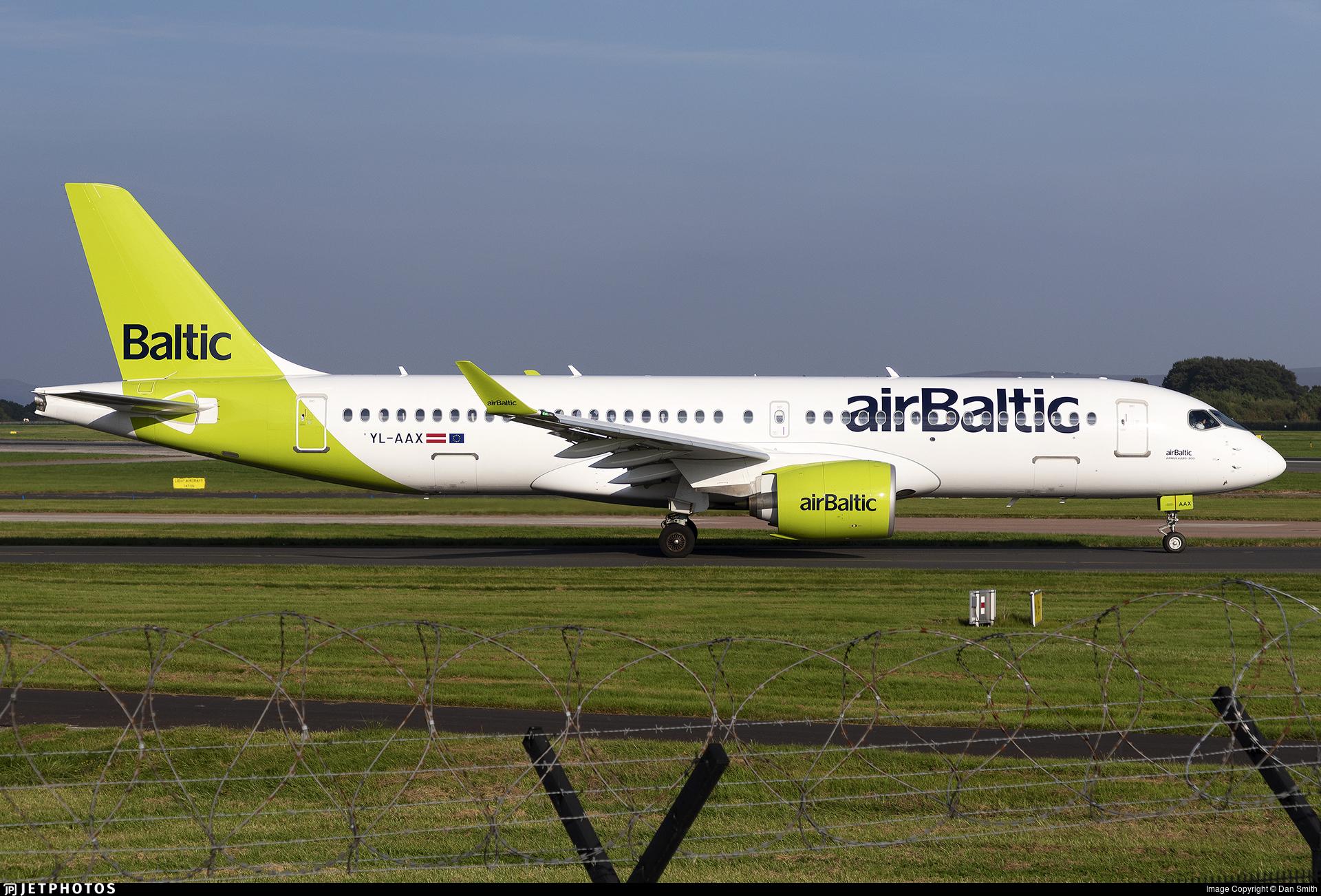 YL-AAX - Airbus A220-371 - Air Baltic
