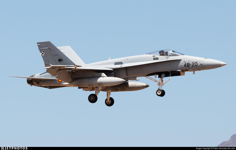 C.15-92 - McDonnell Douglas F/A-18A+ Hornet - Spain - Air Force