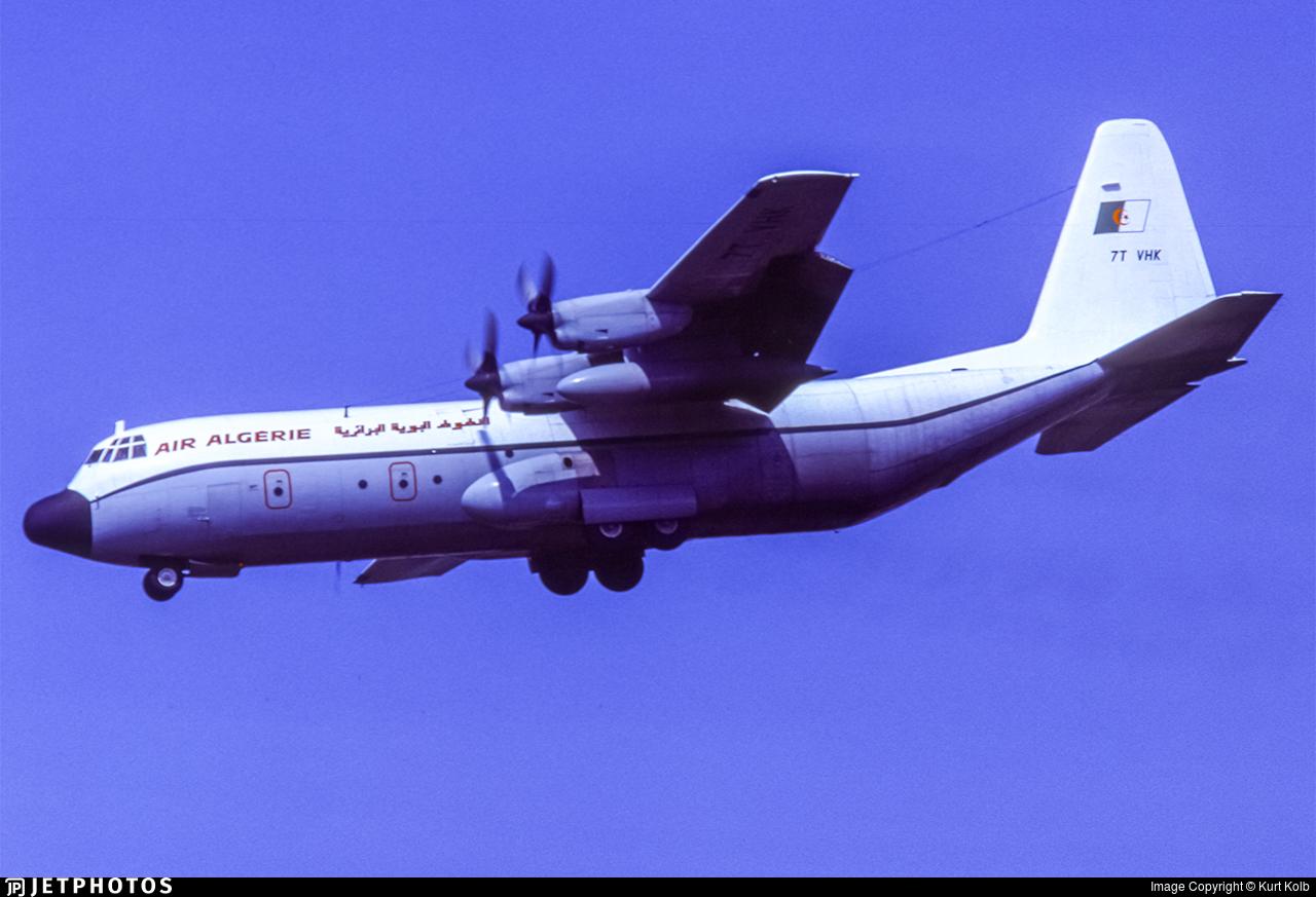 7T-VHK - Lockheed L-100-30 Hercules - Air Algérie