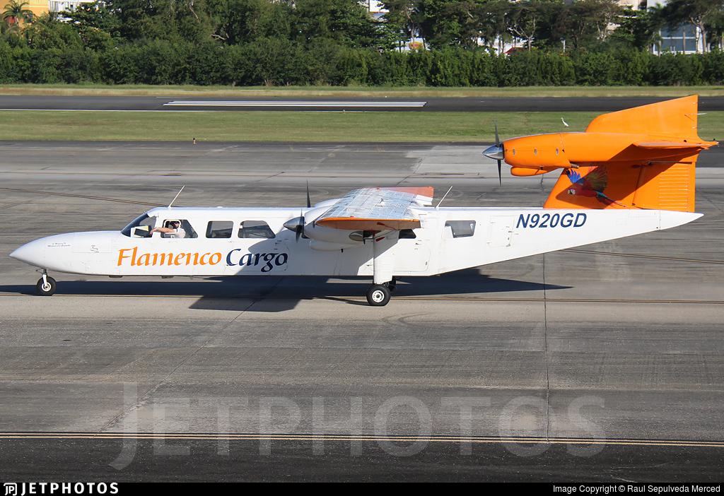 N920GD - Britten-Norman BN-2A Mk.III Trislander - Air Flamenco