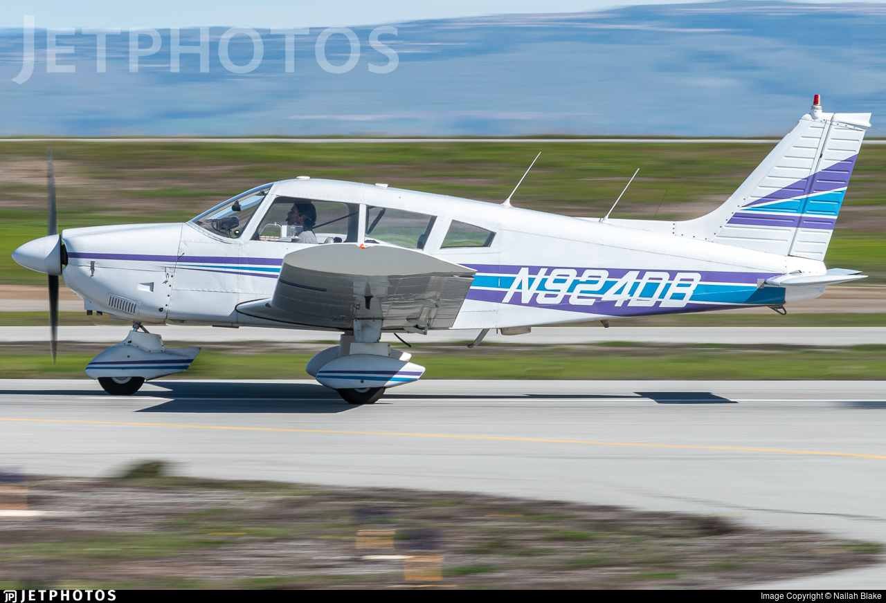 N924DB - Piper PA-28-180 Cherokee Challenger - Private