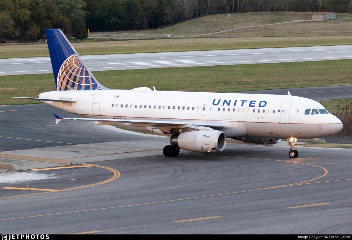 N850UA - Airbus A319-131 - United Airlines