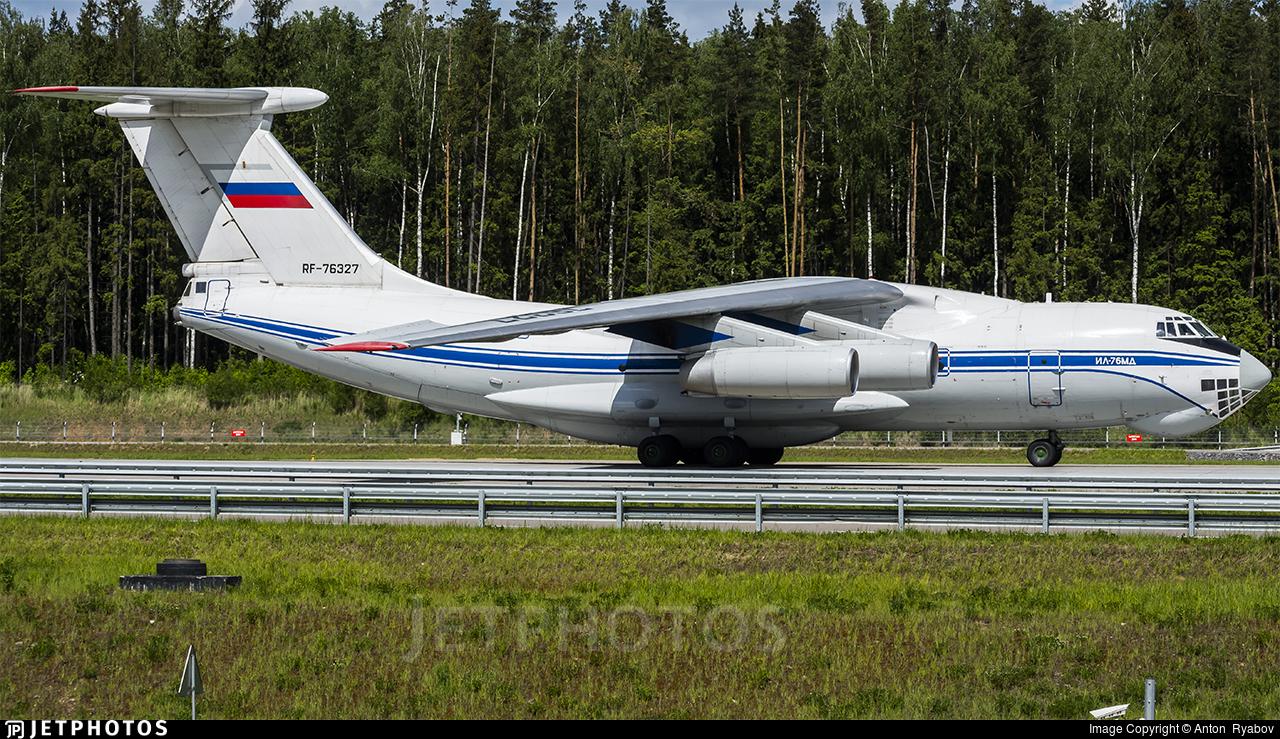 RF-76327 - Ilyushin IL-76MD - Russia - Federal Border Guards Aviation Command