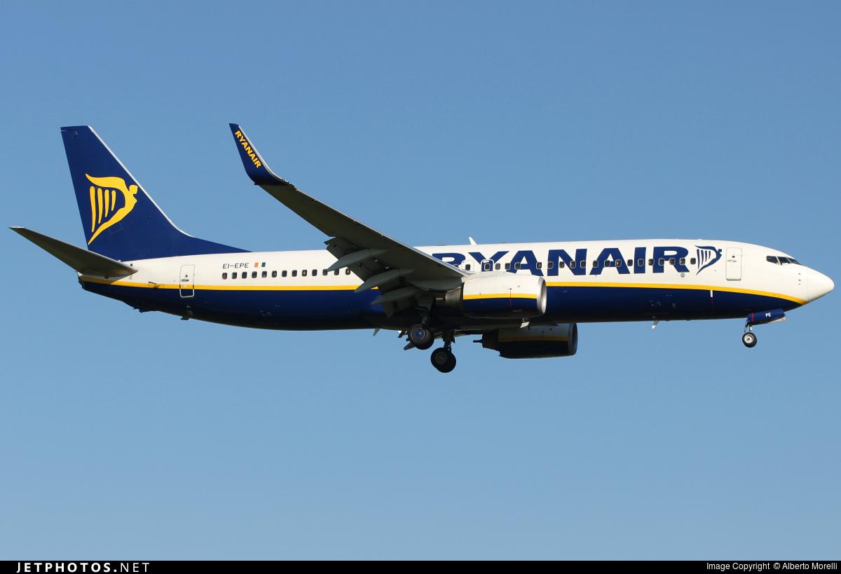 EI-EPE - Boeing 737-8AS - Ryanair