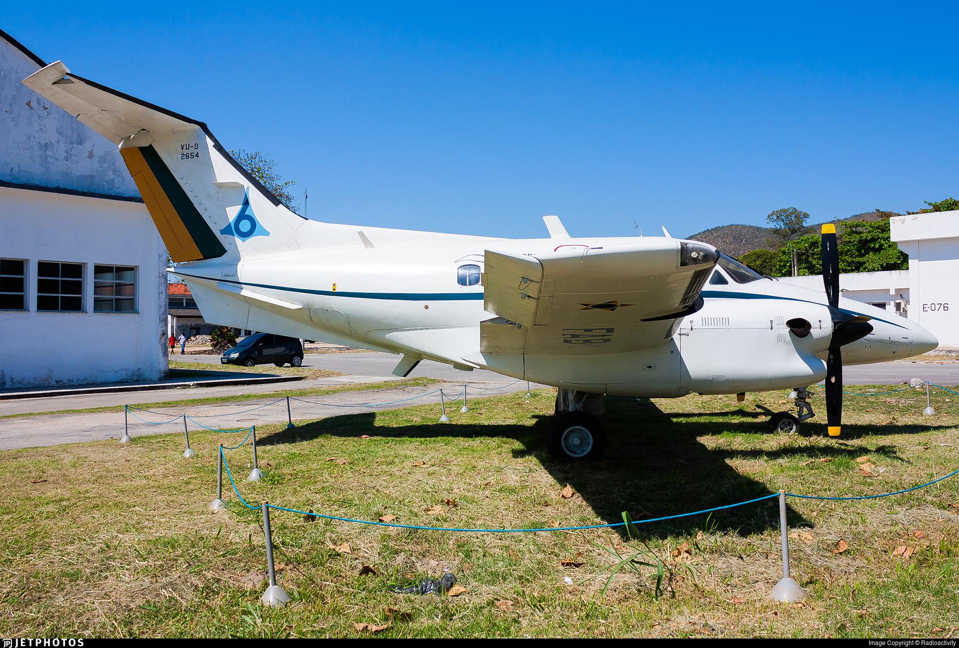FAB2654 - Embraer EMB-121A1 Xingú II - Brazil - Air Force