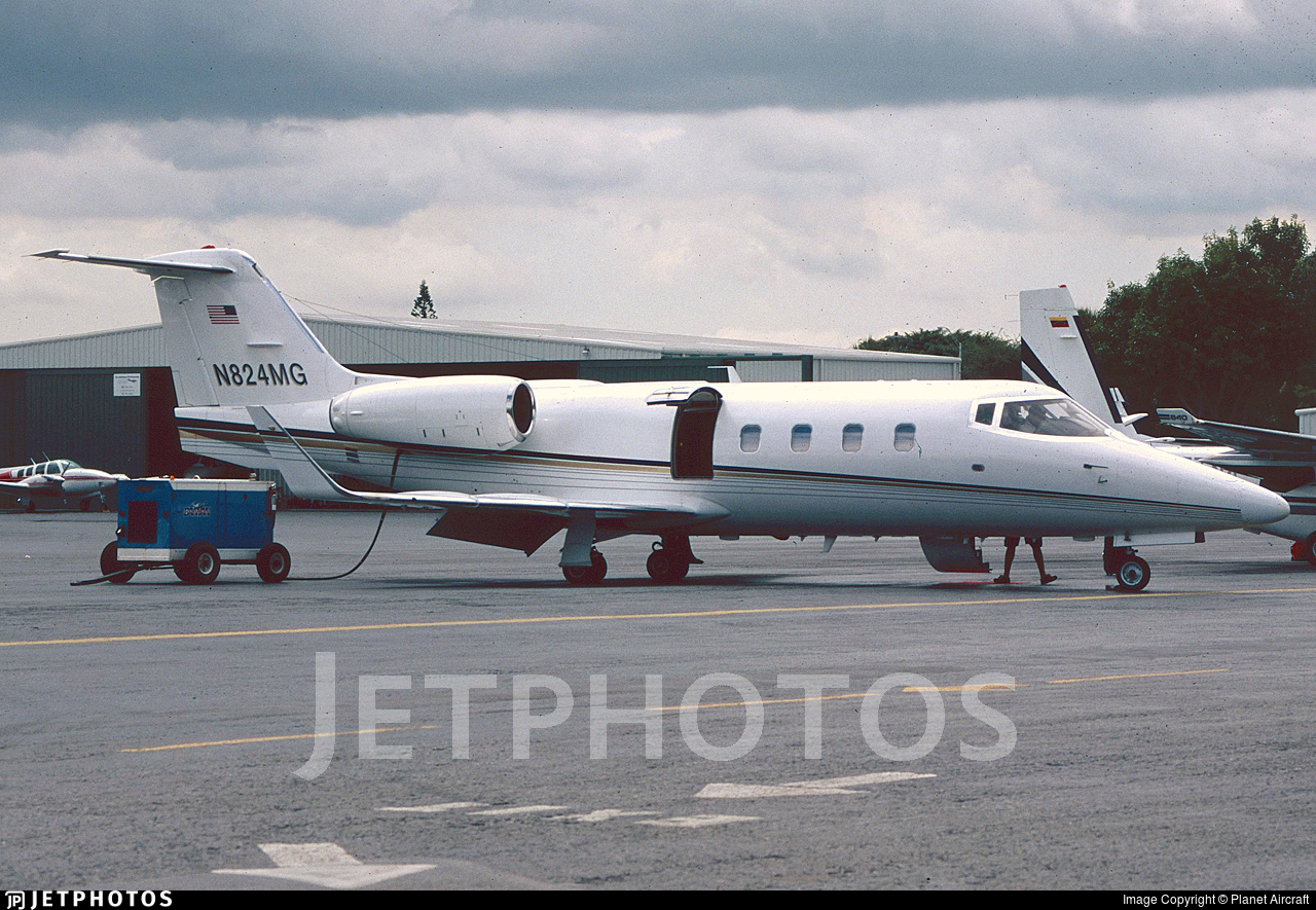 N824MG - Bombardier Learjet 55 - Private