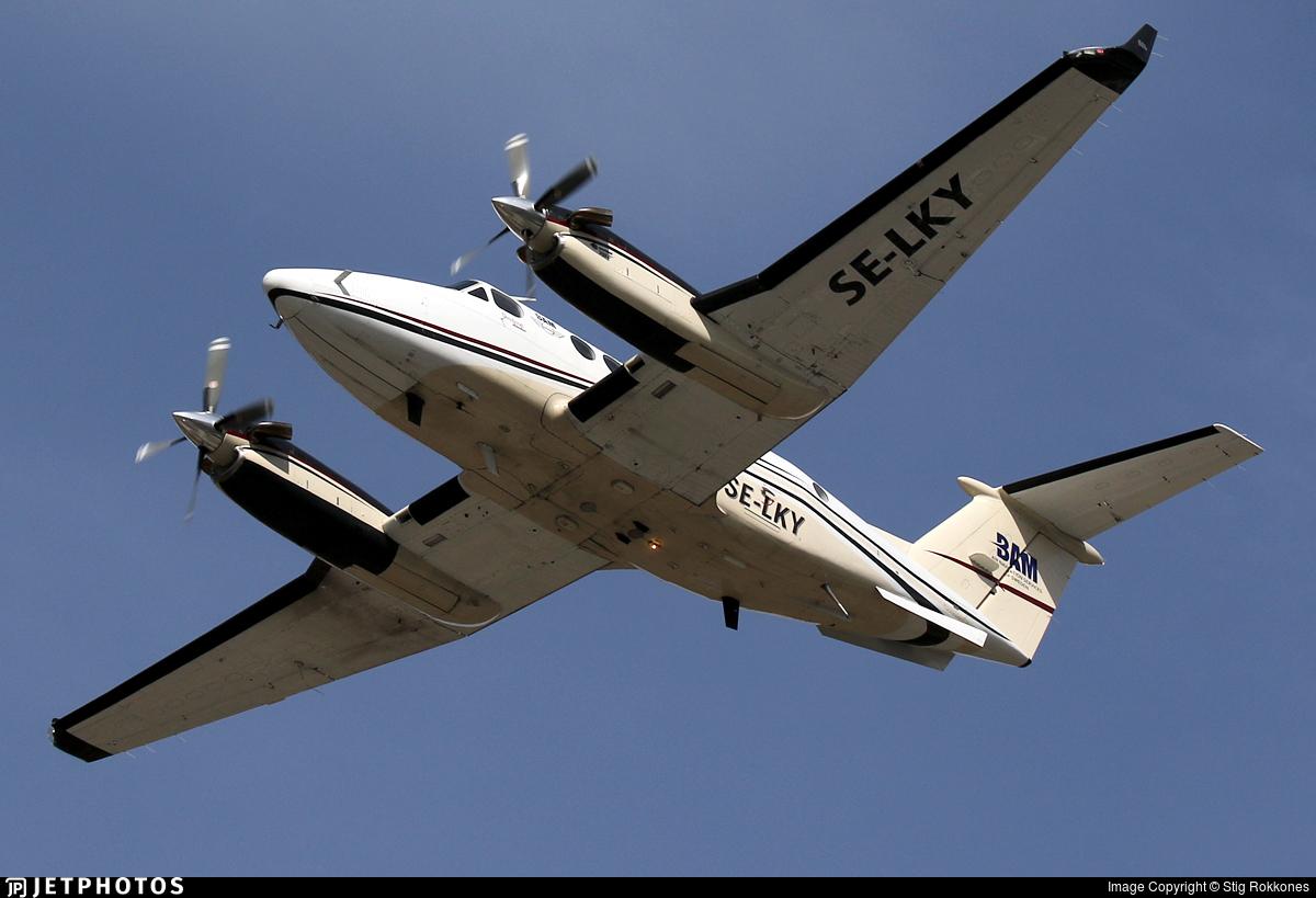 SE-LKY - Beechcraft B200 Super King Air - Bromma Air Maintenance