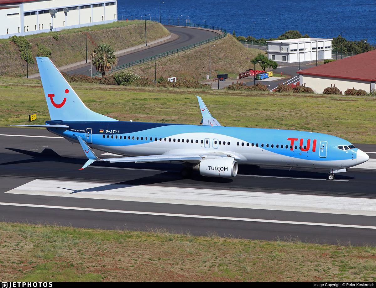 D-ATYI - Boeing 737-8K5 - TUI