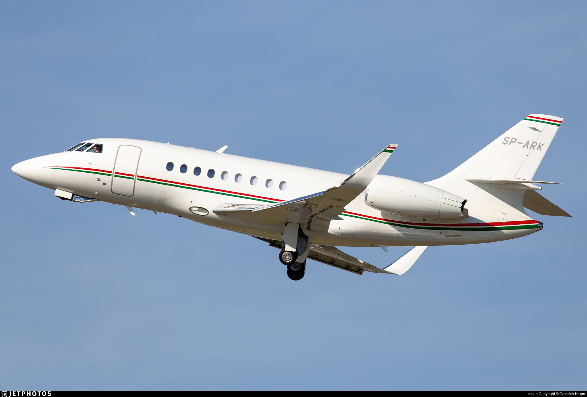 SP-ARK - Dassault Falcon 2000S - Private
