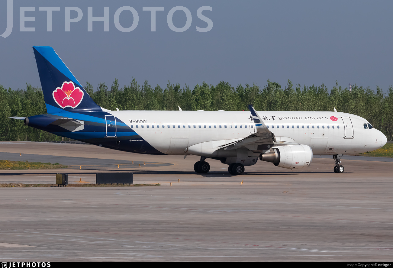 B-8282 - Airbus A320-214 - Qingdao Airlines