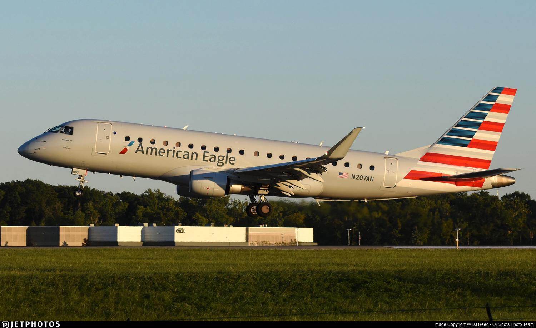 N207AN - Embraer 170-200LR - American Eagle (Envoy Air)