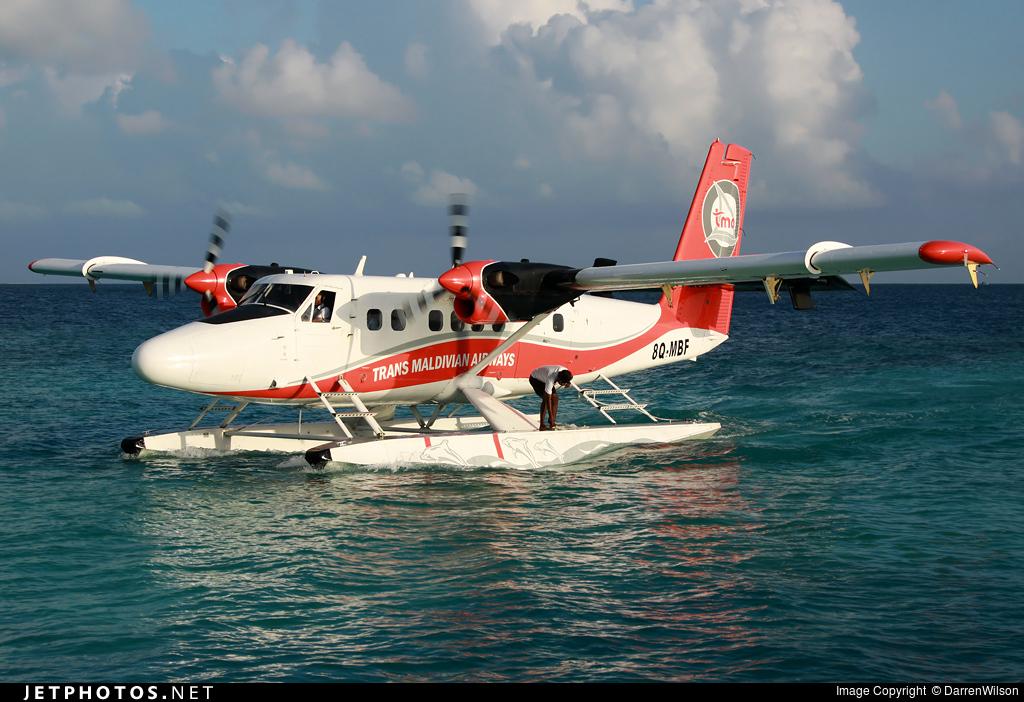 8Q-MBF - De Havilland Canada DHC-6-300 Twin Otter - Trans Maldivian Airways