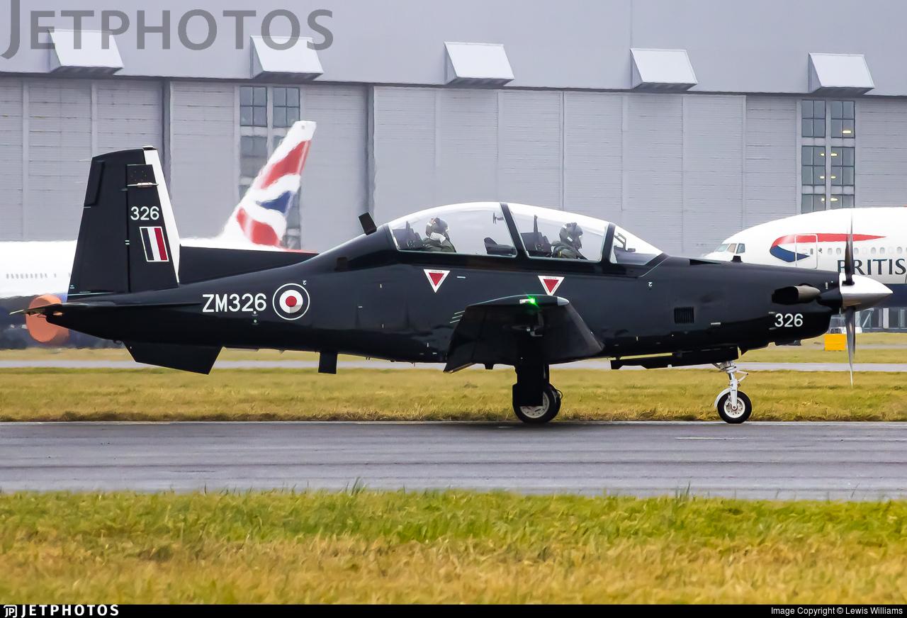 ZM326 - Raytheon T-6C Texan T1 - United Kingdom - Royal Air Force (RAF)
