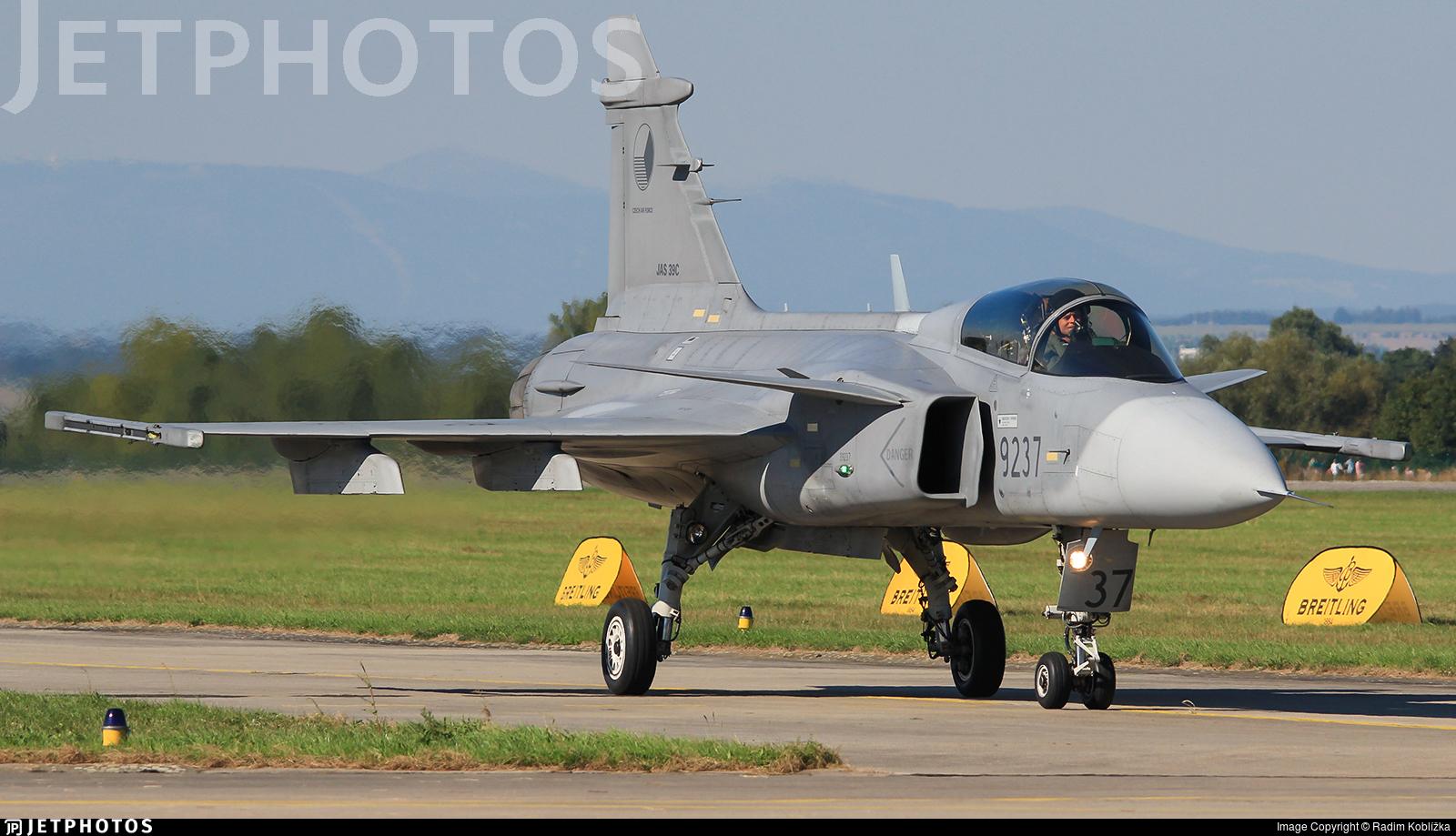 9237 - Saab JAS-39C Gripen - Czech Republic - Air Force