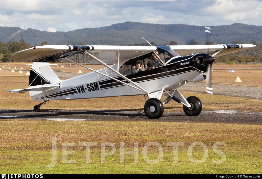 VH-SSM - Piper PA-18-150 Super Cub - Private