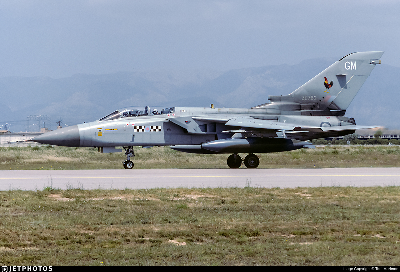 ZE762 - Panavia Tornado F.3 - United Kingdom - Royal Air Force (RAF)