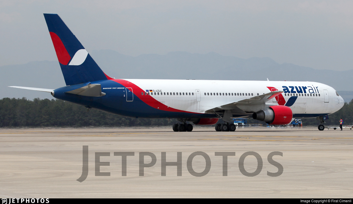 D-AZUC - Boeing 767-33A(ER) - Azur Air Germany