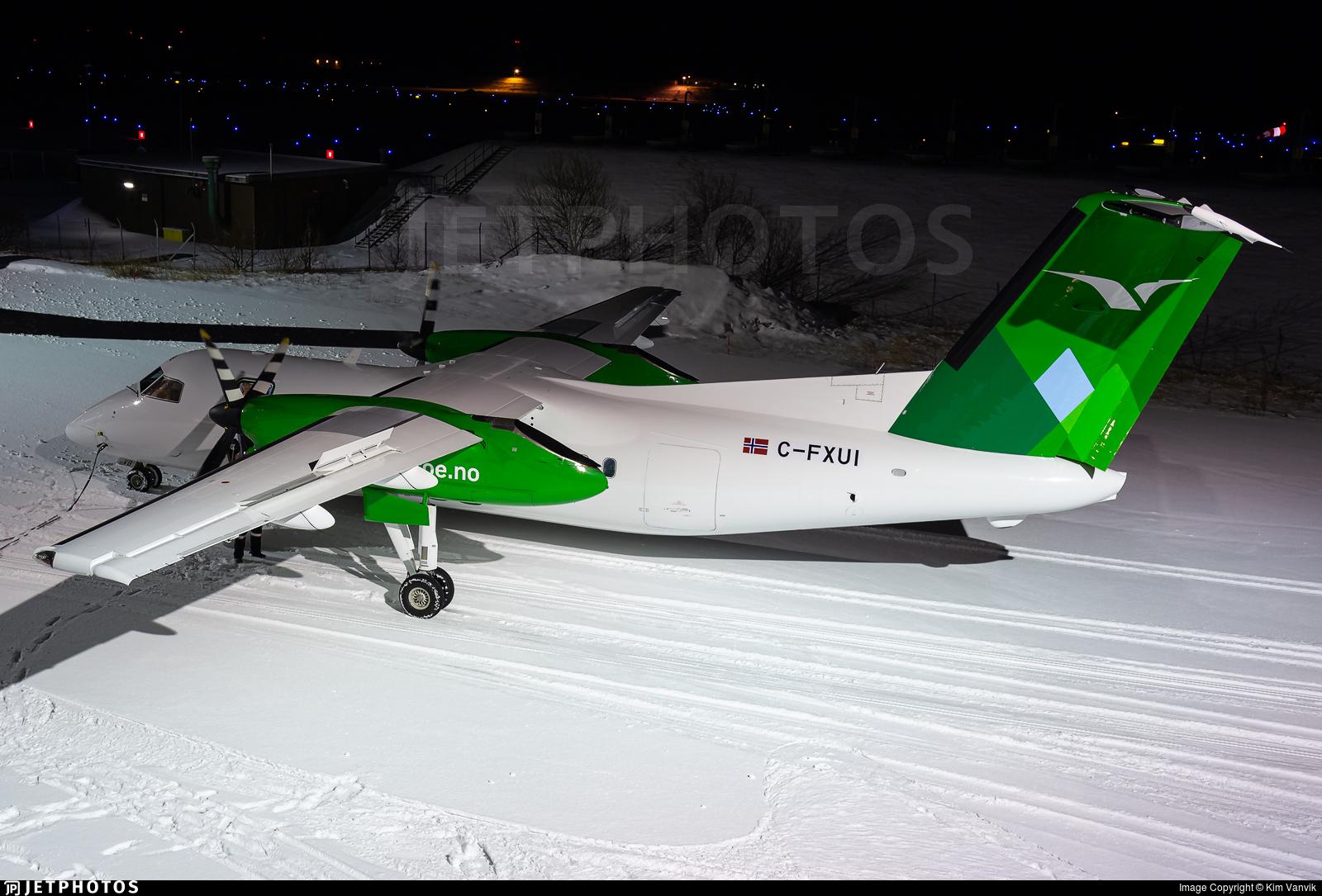 C-FXUI - Bombardier Dash 8-103 - Widerøe